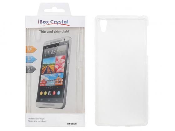 Чехол силикон iBox Crystal для HTC Desire 516/316 (прозрачный) клип кейс ibox crystal для htc desire 828
