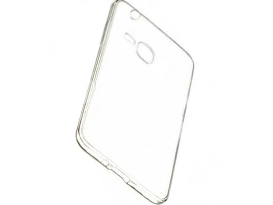 Чехол силикон iBox Crystal для Samsung Galaxy G850 Alpha (прозрачный) чехол силикон ibox crystal для samsung g313 galaxy ace 4 прозрачный