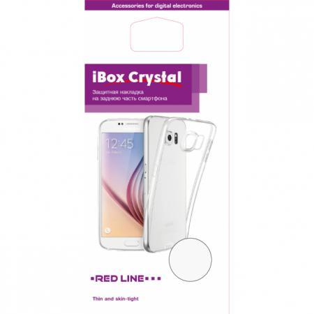 Чехол силикон iBox Crystal для Samsung Galaxy A8 (прозрачный) клип кейс ibox fresh для samsung galaxy s5 mini черный