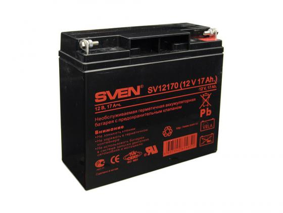 Батарея Sven SV-0222017 12B/17A (SV-12170) аккумуляторная батарея для ибп sven sv 12v7 2ah sv 012335