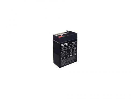 Батарея Sven SV-0222064 6B/4.5A SV 645 аккумуляторная батарея для ибп sven sv 12v7 2ah sv 012335