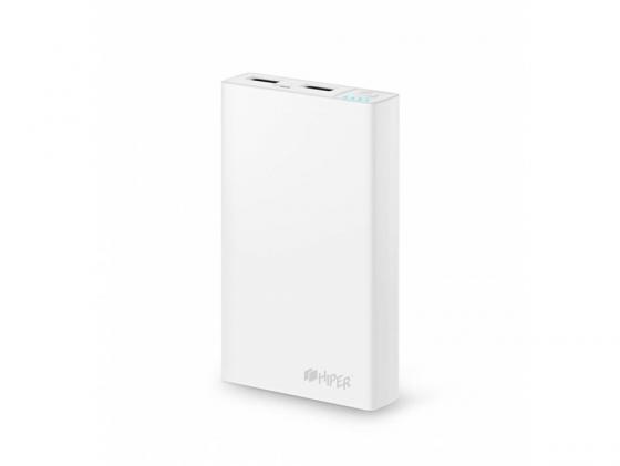 купить Портативное зарядное устройство HIPER Power Bank RP12500 12500мАч белый онлайн