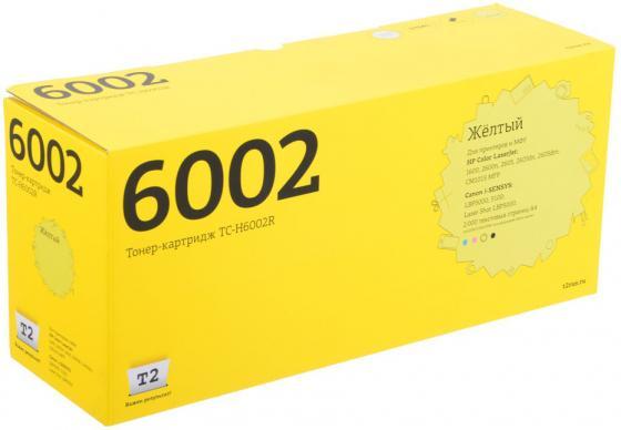 Фото - Картридж T2 Q6002A для HP Color LJ 1600/2600n желтый 2000стр TC-H6002R картридж t2 tc p88 для panasonic kx fl401ru 403ru 413ru flc 412ru 2000стр