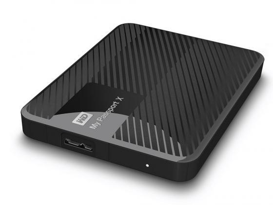Внешний жесткий диск 2.5 USB3.0 2Tb Western Digital My Passport X WDBCRM0020BBK-EESN черный жесткий диск пк western digital wd40ezrz 4tb wd40ezrz