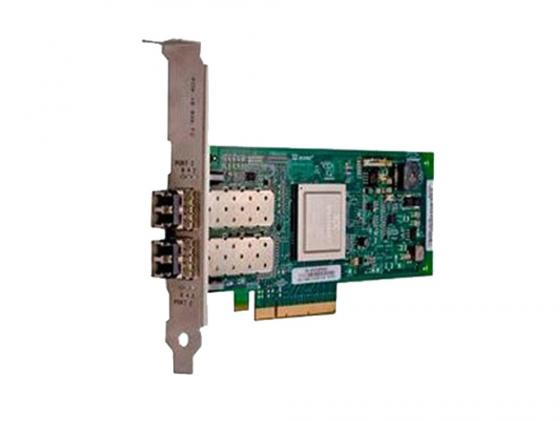 Контроллер Dell NIC QLogic 2662 Dual Port 16Gb Fibre Channel HBA Low Profile 406-BBBH адаптер dell qlogic 2562 dual port 8gb fibre channel hba pci e x8 full profile kit 406 bbek