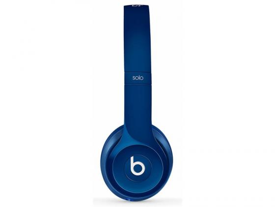Наушники Apple Beats Solo2 On-Ear Headphones синий MHBJ2ZM/A наушники apple beats solo2 on ear headphones серебристый mh982zm a
