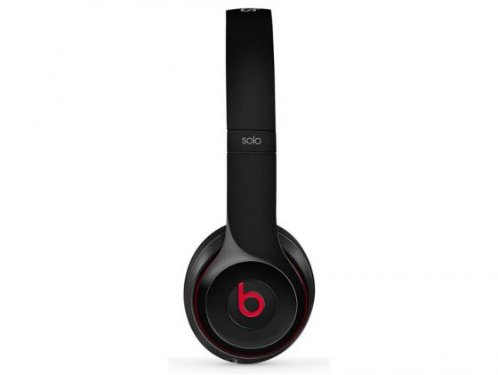 Наушники Apple Beats Solo2 On-Ear Headphones черный MH8W2ZM/A наушники beats ep on ear headphones black ml992ze a