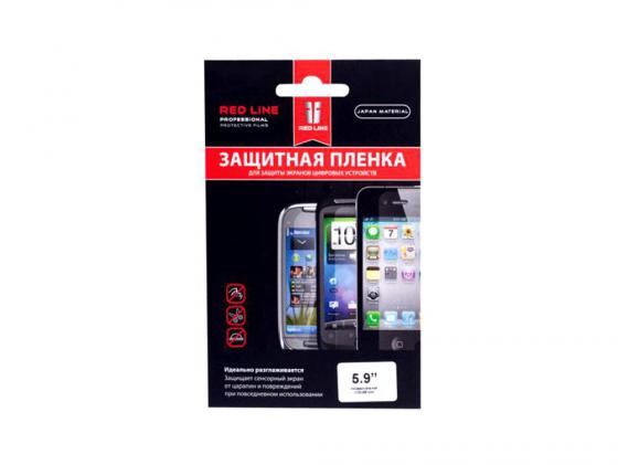 "Пленка защитная Red Line для смартфонов 5.9"" прозрачная УТ000000009 цена и фото"