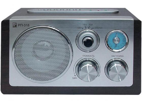 Радиоприемник Сигнал БЗРП РП-318 серебристый 15882 сигнал electronics рп 318