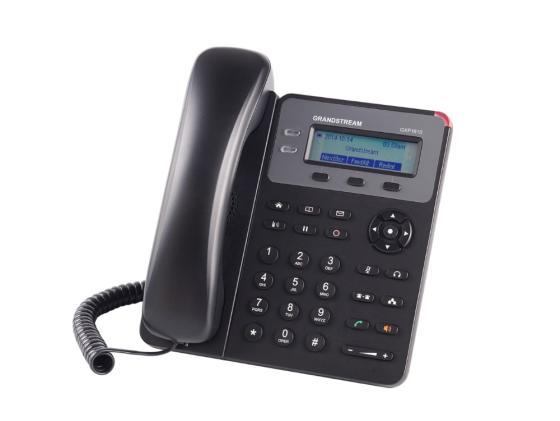 Телефон IP Grandstream GXP1610 2 линии 1 SIP-аккаунт 2x10/100Mbps LCD voip телефон grandstream networks gxp2160