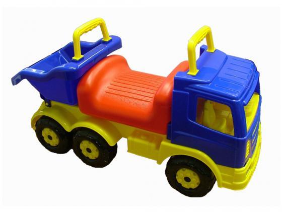 Каталка-машинка Полесье Самосвал Премиум 2 пластик от 1 года разноцветный 6614 полесье полесье каталка тримарк 2 с панелью