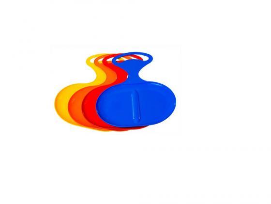 Ледянка Пластик Snow Asss до 80 кг пластик разноцветный Пл-С 309 в ассортименте ледянка треугольник пластик