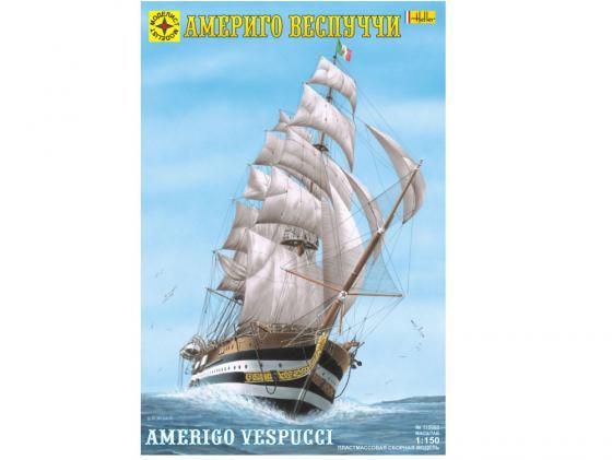 Корабль Моделист Америго Веспуччи 1:150 115060 корабль моделист санта мария колумба 1 150 115002