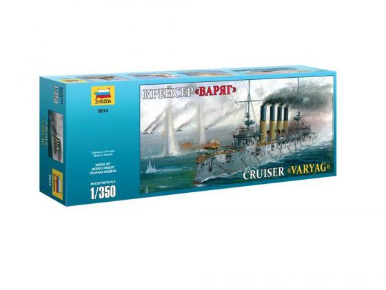 Корабль Звезда Крейсер Варяг 1:350 9014 фёдор лисицын крейсер варяг isbn 978 5 699 84530 9
