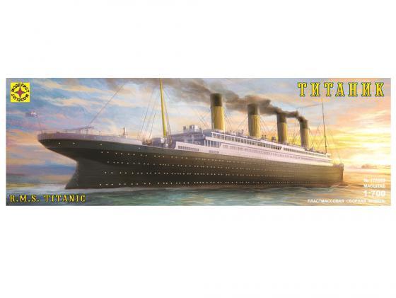 Корабль Моделист Лайнер Титаник 1:700 170068 корабль моделист линкор тирпиц 1 800 серый 180080