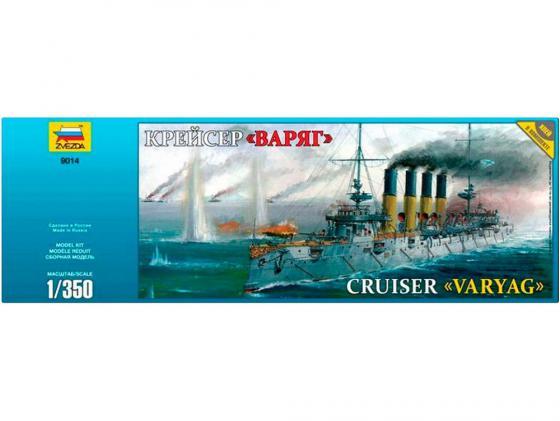 Корабль Звезда Крейсер Варяг 1:350 9014П подарочный набор звезда подарочный набор авианосец адмирал кузнецов звезда