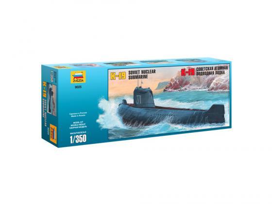 Подводная лодка Звезда К-19 1:350 9025 подводная лодка подводная лодка f301 угол клапан красоты
