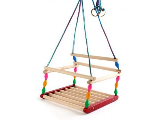 Качели Ветерок Деревянные игрушки - Владимир СУС6 музыкальные игрушки meinl маракасы деревянные nino7pd b