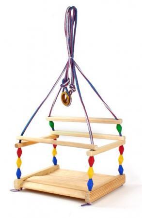 Качели Деревянные игрушки Волна СУС1 деревянные игрушки letoyvan набор миксер с продуктами