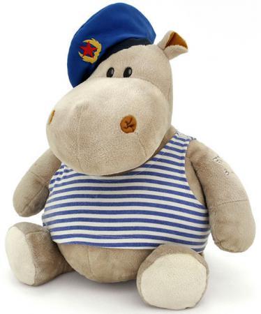 Мягкая игрушка бегемот ОРАНЖ Десантник 20 см разноцветный плюш МА2640/20D цена