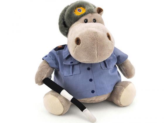 Мягкая игрушка бегемотик Orange Полицейский 30 см серый плюш МА2640/30J мягкая игрушка бегемотик orange полицейский плюш серый 30 см ма2640 30j