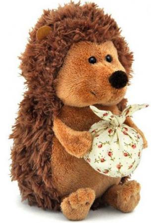 Мягкая игрушка ежик ORANGE Колюнчик с узелочком 20 см коричневый искусственный мех OS065/20В цена