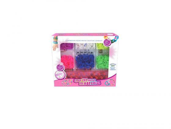 Набор для плетения Shantou Gepai 21011 600 шт набор для творчества shantou gepai рукодельница сова k04