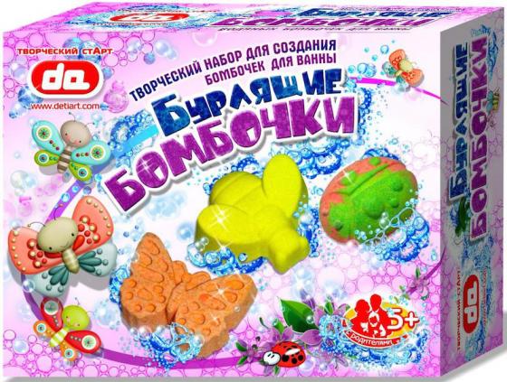 Набор для творчества Дети Арт Бурлящие бомбочки Насекомые от 5 лет да17004 насекомые от цветов