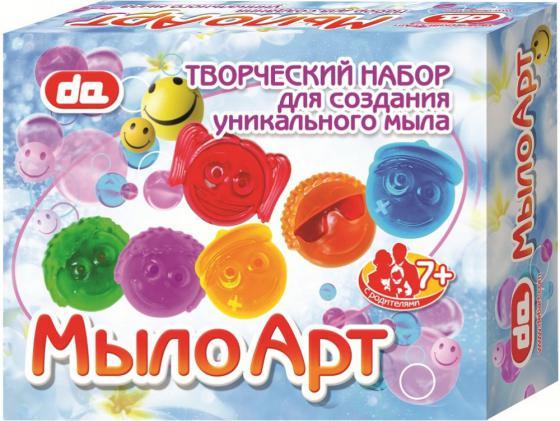 Набор для изготовления мыла Дети Арт Смайлы от 7 лет да10006 набор для изготовления мыла дети арт фрукты от 7 лет да10004