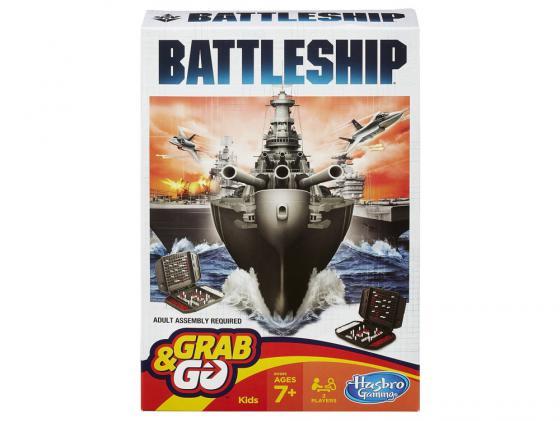 Настольная игра Hasbro дорожный Морской бой B0995 настольная игра hasbro морской бой классическая