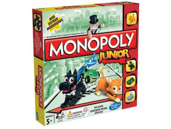 Настольная игра Hasbro Моя первая монополия A6984 настольная игра hasbro hasbro настольная игра монополия миллионер