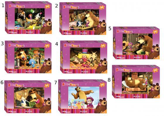 Пазл 120 элементов Step Puzzle Маша и Медведь 75112 пазл 120 элементов step puzzle золотая серия 10 машины 75010
