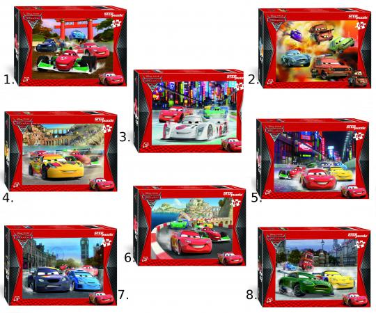 Пазл 120 элементов Step Puzzle Дисней Тачки-2 пазл 120 элементов step puzzle золотая серия 10 машины 75010