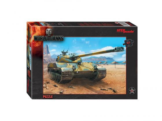 Пазл 160 элементов Step Puzzle World of Tanks 94031 пазл step puzzle world of tanks 160 элементов 94031