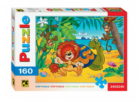 Пазл Step Puzzle Пазлы 160 Львенок и черепаха Step Puzzle 72008 160 элементов cartoon educational puzzle wooden kids toys developmental wood toy montessori jigsaw puzzle speelgoed games for children 60d0037