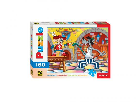 Пазл Step Puzzle Step Puzzle Ну,Погоди! Со шпагой 160 элементов cartoon educational puzzle wooden kids toys developmental wood toy montessori jigsaw puzzle speelgoed games for children 60d0037