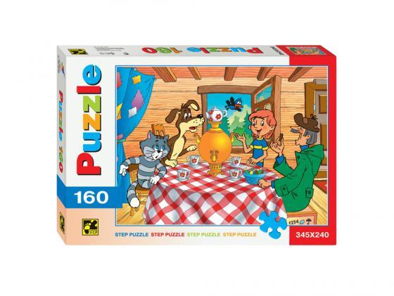Пазл Step Puzzle Простоквашино 160 элементов 72007 пазл 3d 60 элементов step puzzle disney винни пух 98108