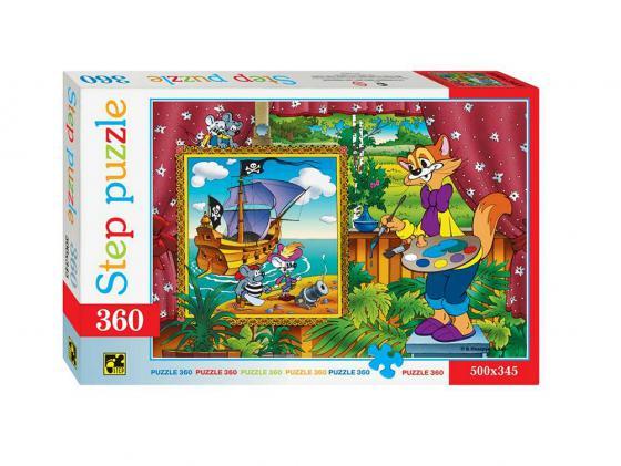 Пазлы 360 Кот Леопольд Step Puzzle 73020 пазлы step puzzle 73058 дружная семейка