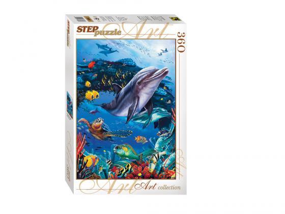 Пазл Step Puzzle Подводный мир 360 элементов 73061 пазл step puzzle развивающие паззлы союзмультфильм путешествие в мир добра в асс 76064