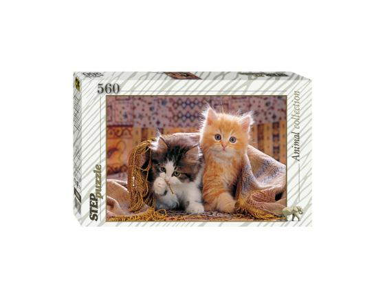 Пазл Step Puzzle Котята 560 элементов 78026 step puzzle me to you new 560 эл