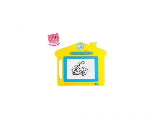 Доска для рисования Домик цветная Shantou Gepai 63463 цена