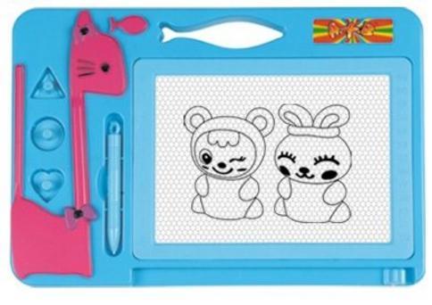 Доска для рисования Shantou Gepai Котенок цветная 63467 доски и мольберты shantou gepai доска для рисования 2868b 2