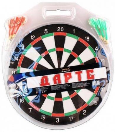 Напольная игра спортивная X-Match Дартс 12 дюймов 63523 спортивная игра x match бадминтон 635056