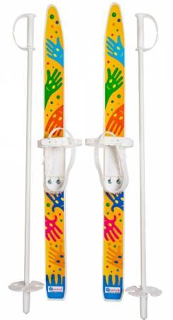 Лыжи детские Лыжики пыжики с палками 75 см 66521 сервер lenovo thinksystem sr630 7x02a052ea