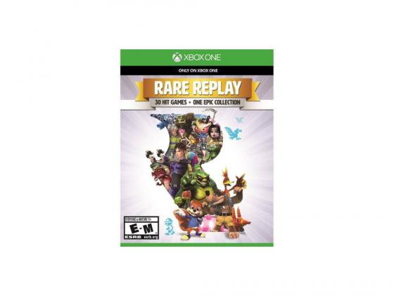 Игра для Xbox One Microsoft Rare Replay KA5-00019 original switch on off power