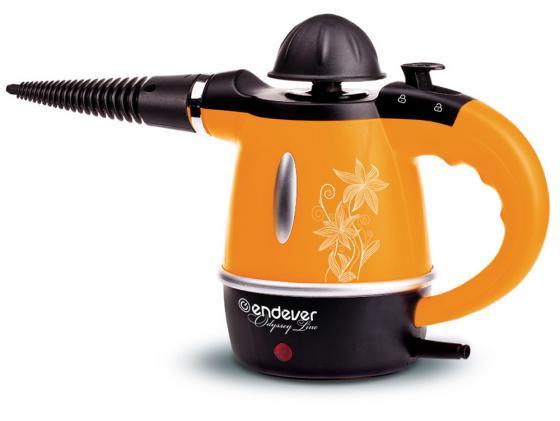 Пароочиститель ENDEVER Odyssey Q-436 1000Вт оранжевый чёрный утюг дорожный endever q 710