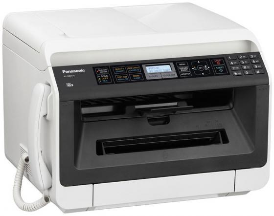 МФУ Panasonic KX-MB2137RUB ч/б A4 26ppm 2400x600dpi автоподатчик факс Ethernet USB бело-черный panasonic kx tgb210 rub