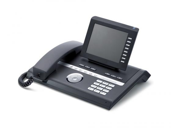 Фото Телефон IP Unify OpenStage 40 черный L30250-F600-C247 ip телефон siemens openstage 40 ice blue l30250 f600 c108