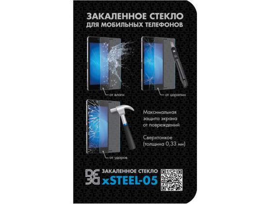 Защитное стекло DF hSteel-05 для HTC Desire 816G защитная плёнка для htc desire 816 desire 816g суперпрозрачная luxcase