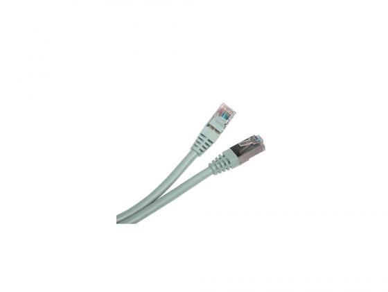 цена на Патч-корд UTP 5E категории 0.5м Hyperline PC-LPM-UTP-RJ45-RJ45-C5e-0.5M-LSZH-GY серый